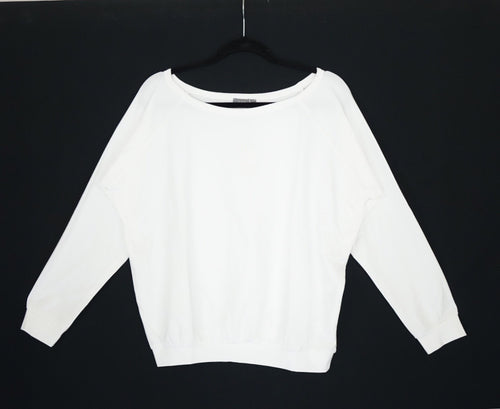 Chalk Long Sleeve White Top