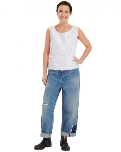 Ewa i Walla Trousers Original Denim 11336 SS20