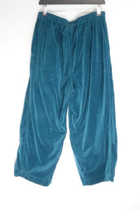 Grizas Teal Velour Bottoms 3492-M10 AW20
