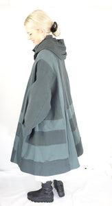 Nook Teal Wista Coat AW19