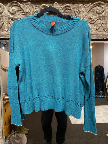 Ewa i Walla Petrol Jumper 44671 2019 Collection