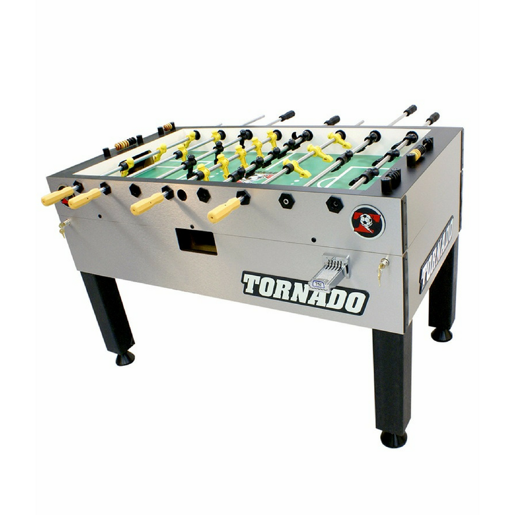 Tornado Platinum Foosball Table Tour Edition (Coin-Operated) - Foosball Warehouse