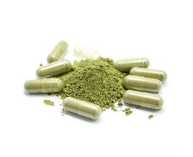 600 mg Green MD (approx 150 capsules)