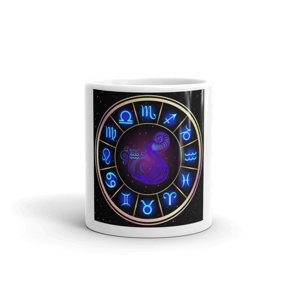 Aquarius Mug | Astrology Emoji's