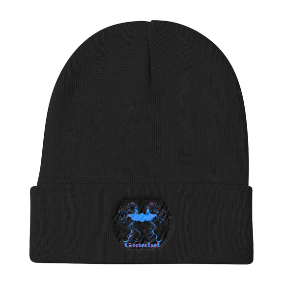 Gemini sign - Knit Beanie | Astrology Emoji's