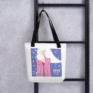 "Virgo ""Snowflakes"" Tote bag 