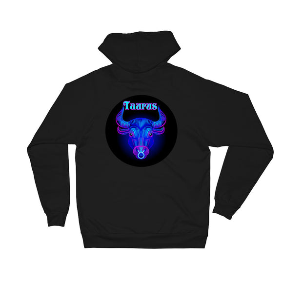 Taurus Unisex Fleece Hoodie | Astrology Emoji's Gear