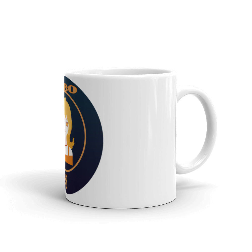 Leo Oval Mug | Astrology Emoji's
