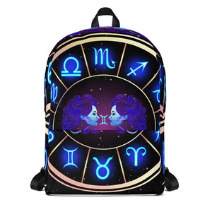 Gemini Backpack | Astrology Emoji's
