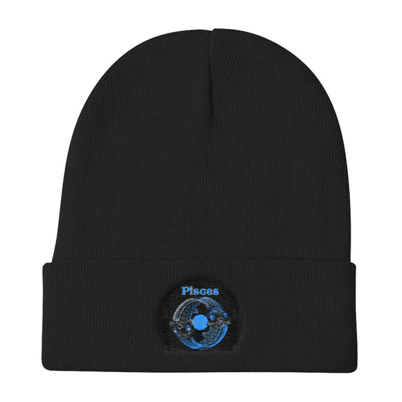 Pisces sign - Knit Beanie | Astrology Emoji's