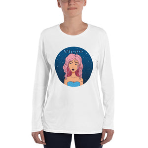 Virgo sign Ladies' Long Sleeve T-Shirt