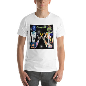 Gemini Collage Short-Sleeve Unisex T-Shirt