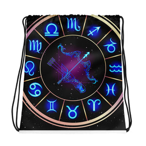 Sagittarius Drawstring Bag | Astrology Emoji's