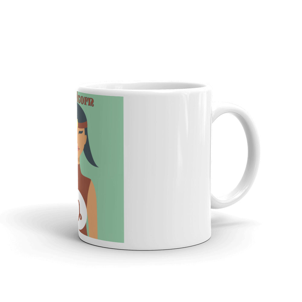 Capricorn Square Mug | Astrology Emoji's