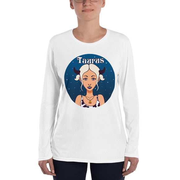 Taurus Ladies' Long Sleeve T-Shirt