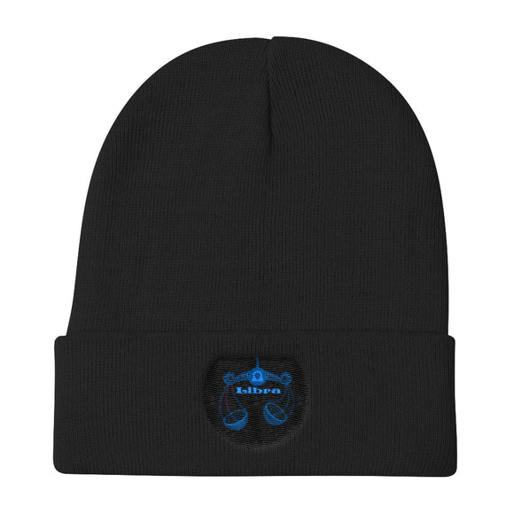 Libra Sign - Knit Beanie | Astrology Emoji's
