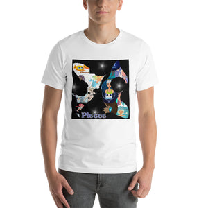Pisces Collage Short-Sleeve Unisex T-Shirt