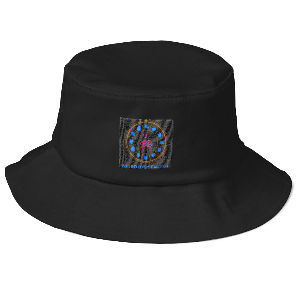 Astrology Emoji's Old School Bucket Hat
