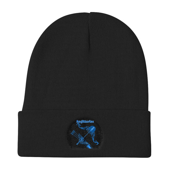 Sagittarius sign - Knit Beanie | Astrology Emoji's