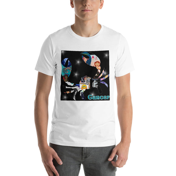 Cancer collage Short-Sleeve Unisex T-Shirt