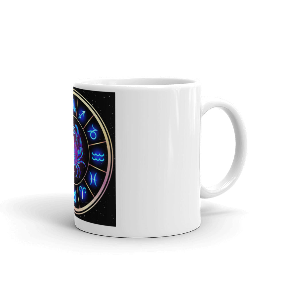 Cancer Sign Astrology Mug | Astrology Emoji's