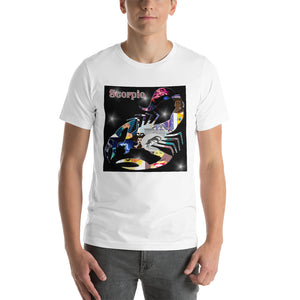 Scorpio collage Short-Sleeve Unisex T-Shirt