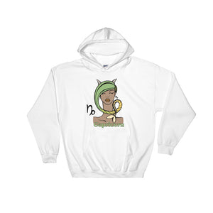 "Capricorn ""Sleek Chic"" Hooded Sweatshirt 