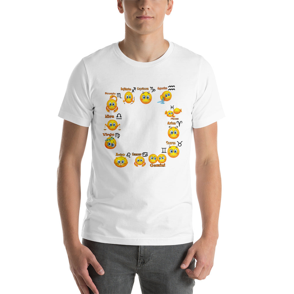 All emojis Short-Sleeve Unisex T-Shirt