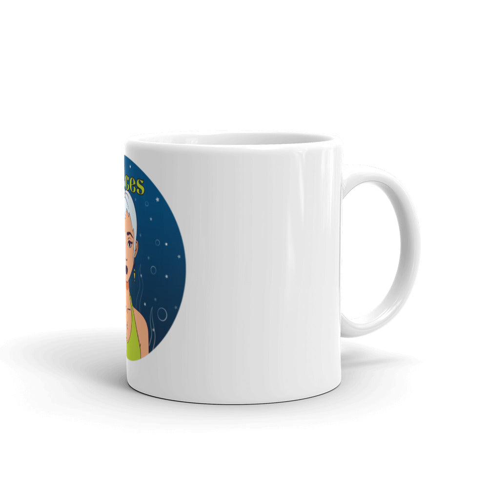 Pisces circle Mug | Astrology Emoji's