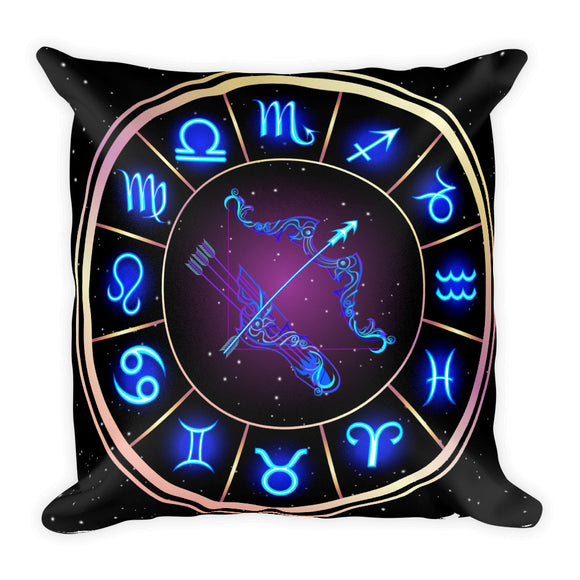 Sagittarius Throw Pillow | Astrology Emoji's