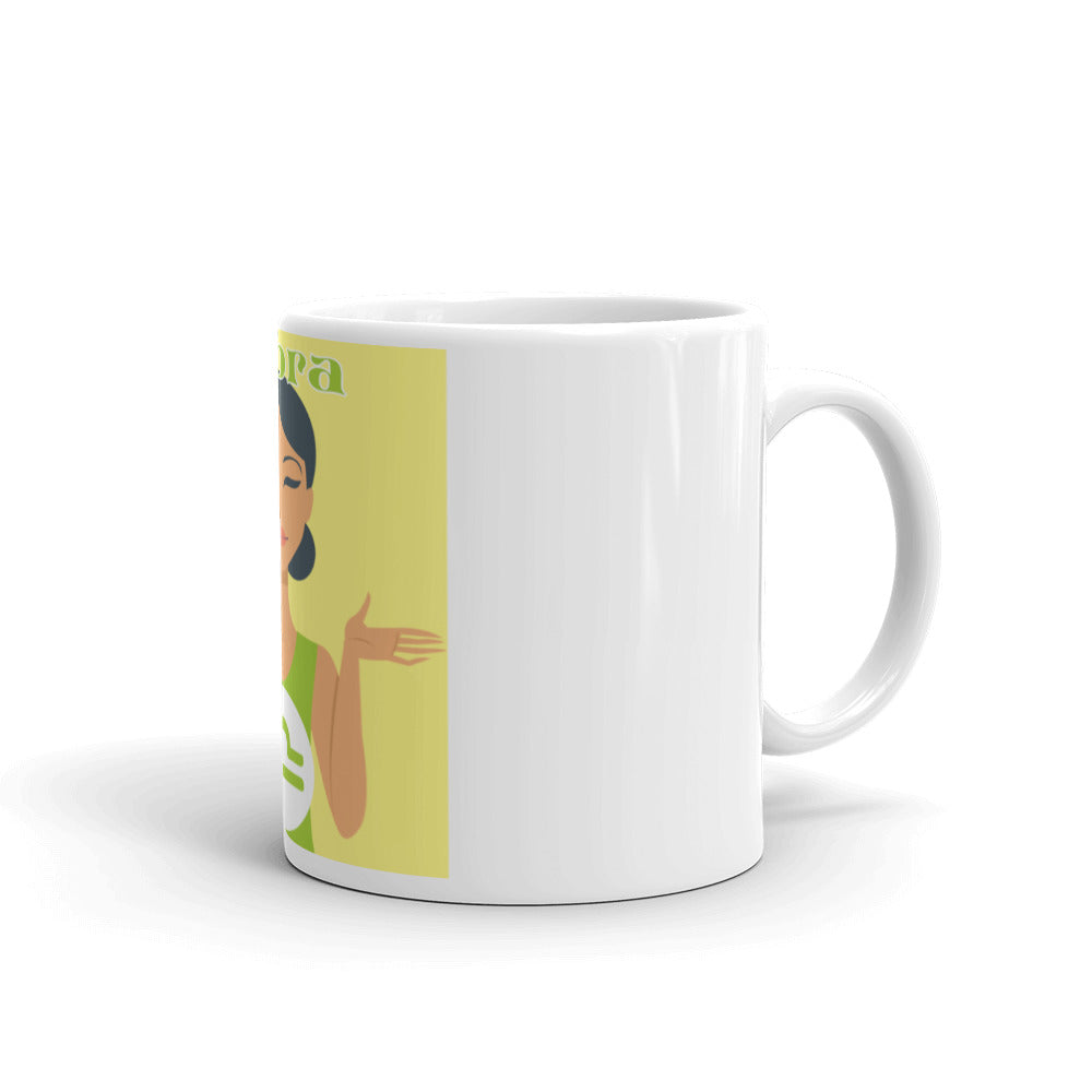 Libra Square Mug | Astrology Emoji's