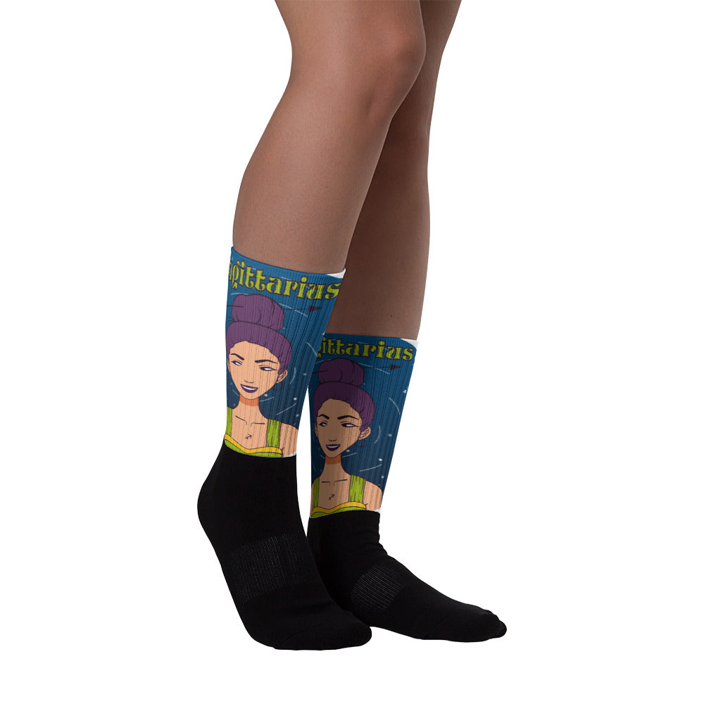 Sagittarius Circle Socks | Astrology Emoji's