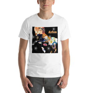 Aries collage Short-Sleeve Unisex T-Shirt