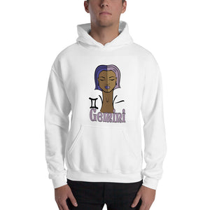 Gemini Hooded Sweatshirt | Astrology Emoji's