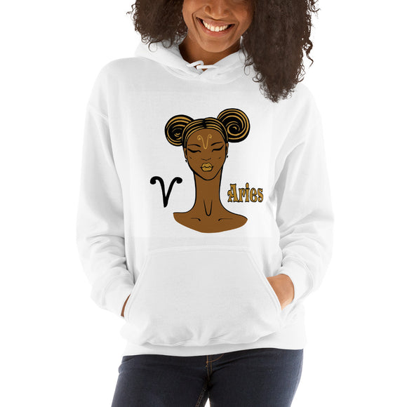 Aries Hooded Sweatshirt | Astrology Emoji's