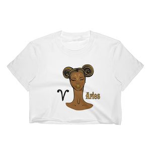 "Aries ""Sleek Chic"" Women's Crop Top 