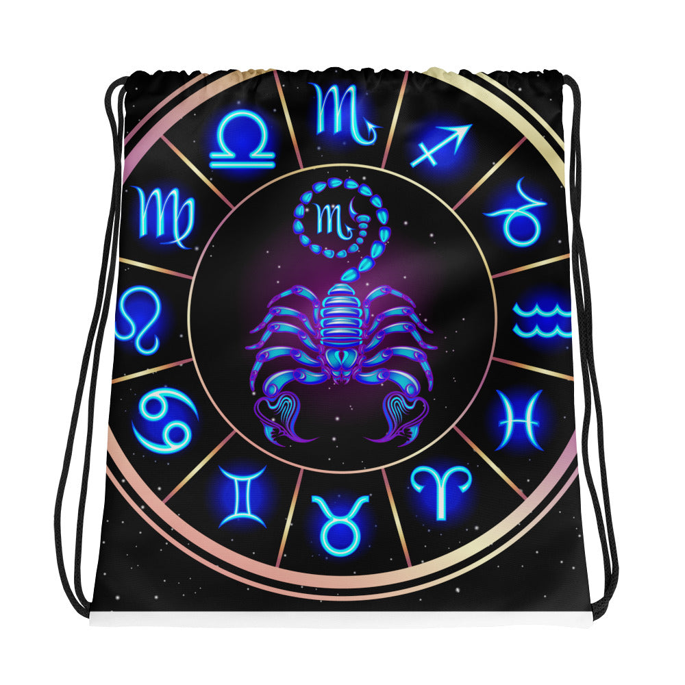 Scorpio Drawstring bag | Astrology Emoji's