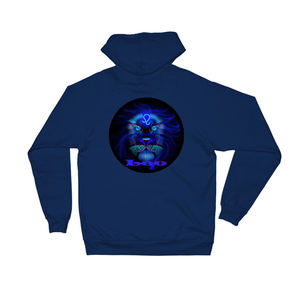 Leo Unisex Fleece Hoodie | Astrology Emoji's