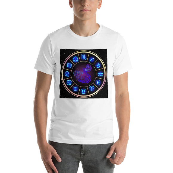 Aquarius Short-Sleeve Unisex T-Shirt | Astrology Emoji's