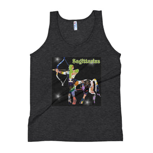 Sagittarius Collage Unisex Tank Top | Astrology Emoji's