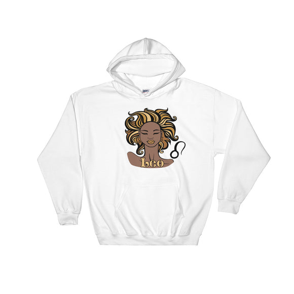 Leo Hooded Sweatshirt | Astrology Emoji's