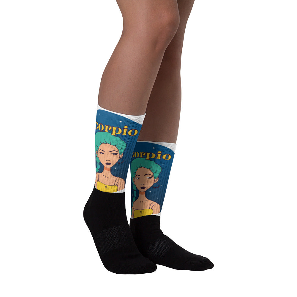 Scorpio Circle  Socks | Astrology Emoji's
