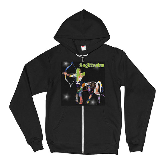 Sagittarius Collage Hoodie Sweater | Astrology Emoji's