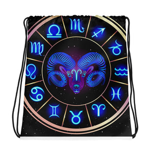 Aries Drawstring bag | Astrology Emoji's