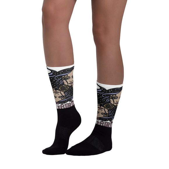Gemini Aztec Socks | Astrology Emoji's