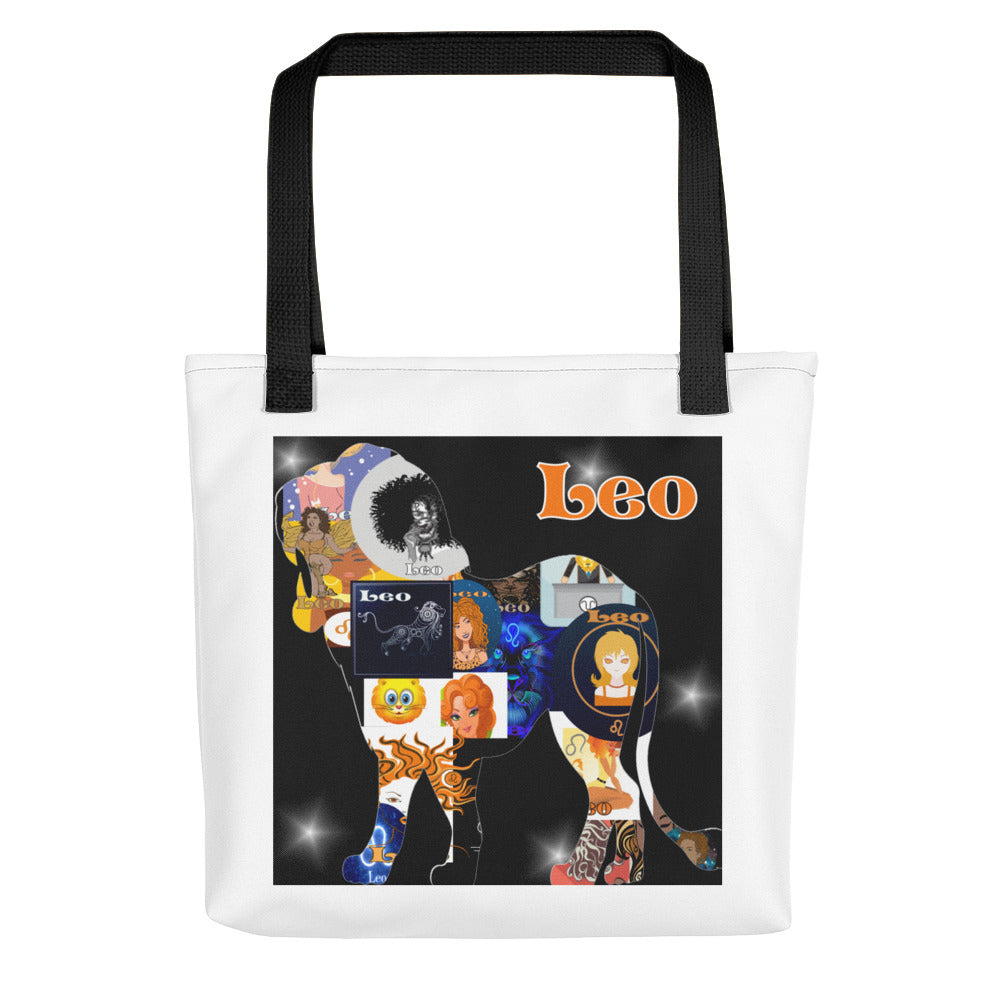 Leo Collage Tote bag | Astrology Emoji's