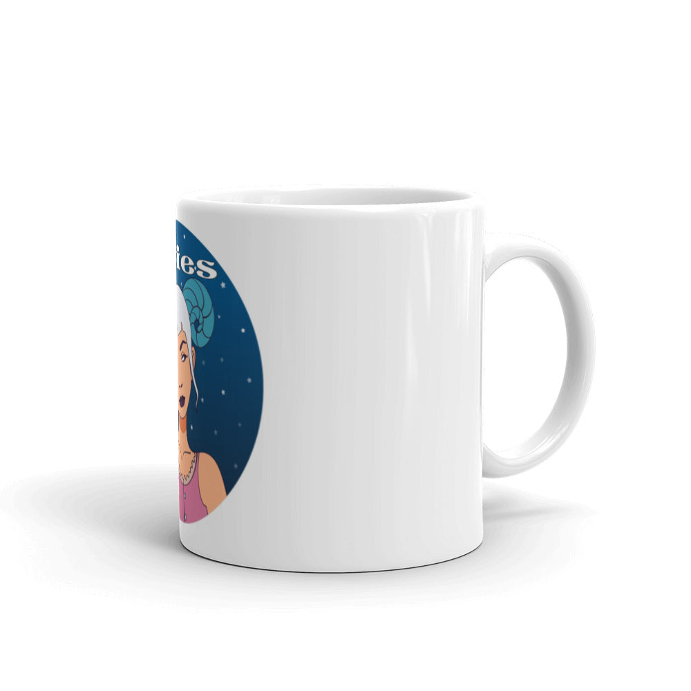 Aries circle Mug | Astrology Emoji's