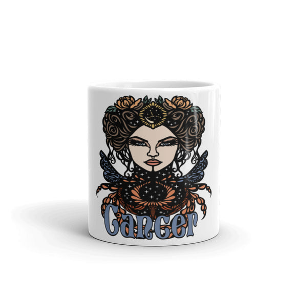 Cancer Aztec Mug | Astrology Emoji's