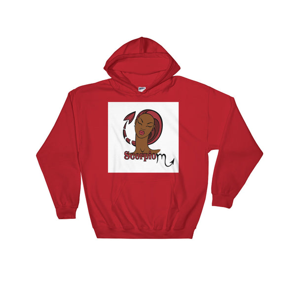 Scorpio Hooded Sweatshirt | Astrology Emoji's