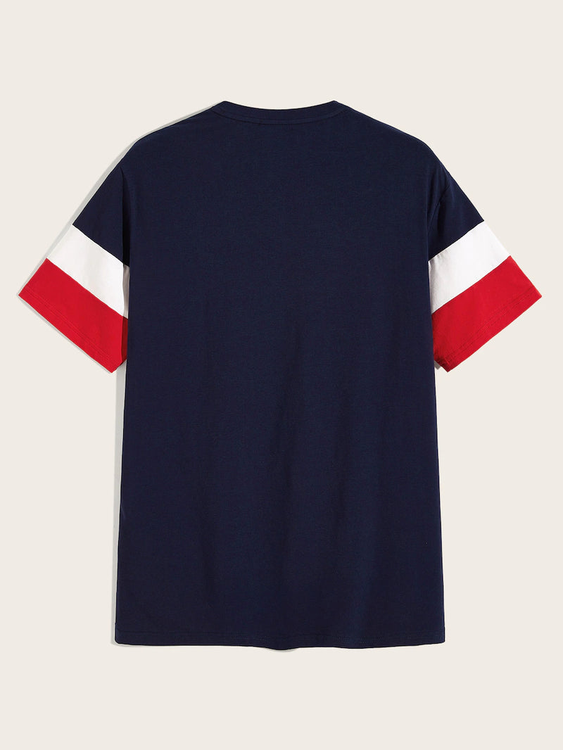 Color-Block Basic Tee